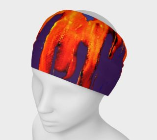 Lava in Purple and Orange Headband preview