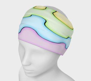 Aperçu de AfroPuff™ Pastel Drips Headband