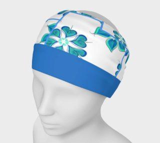 Aperçu de blue floral