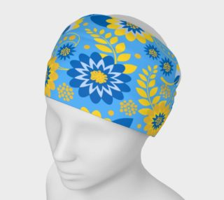Unique Gold and Blue Floral preview