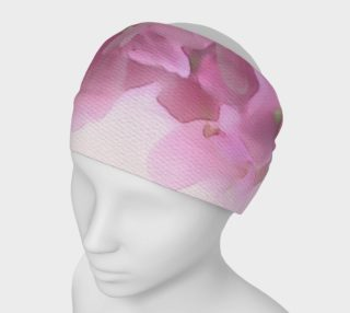Water Color Peach Blossom Floral Headband preview