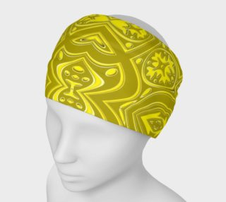 Aperçu de Royal Wheel Swirl - Yellow Mustard
