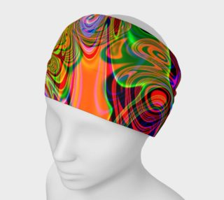Psychedelic Trippy Abstract Headband  preview