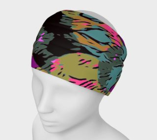 Abstract Animal Print Women's Headband  preview