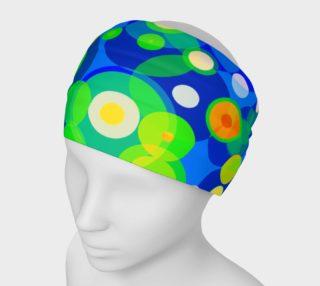 Retro Polka-dot Women's Headband  preview