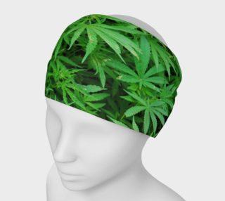 Cannabis Women's Headband  preview