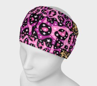 Cheetah Print Headband  preview