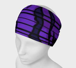 Purple Tiger Print Headband  preview