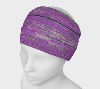 Wood Knot Purple Headband preview