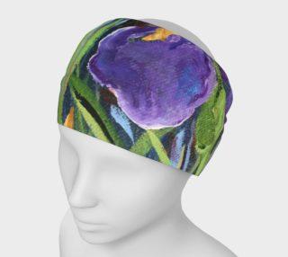 Aperçu de Purple Iris Headband