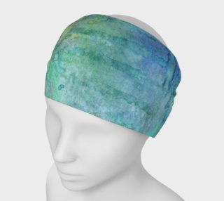 Blue Hues Watercolor Headband preview