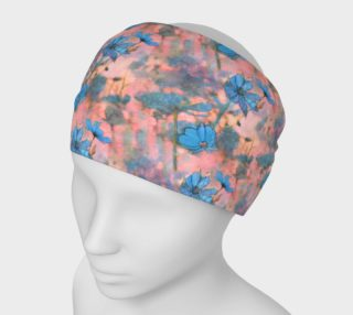 Cosmos Along the Marginal Way Headband (small pattern) preview