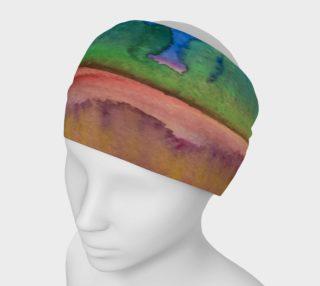 Aperçu de Watercolor Desert Headband