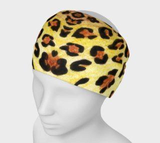 Leopard fur Headband preview