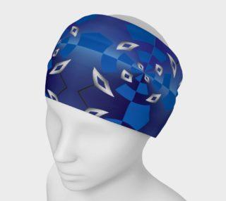 Aperçu de Diamond Boxes - Blue Silver Swirl