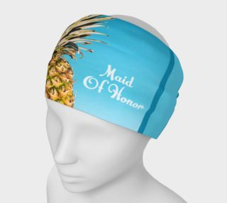 Maid of Honor Pineapple Headband preview