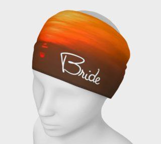 Bride Sunset Headband preview