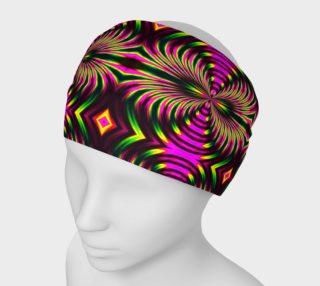 Psychedelic Flamingo Headband preview