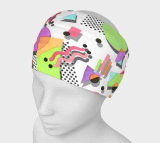 Aperçu de Rad Nineties Geometric Headband