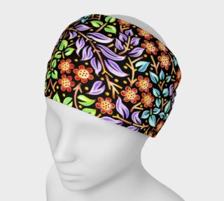 Filigree Floral Headband small print preview