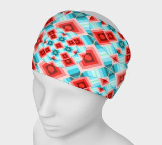 Groovy Argyle Headband small print preview