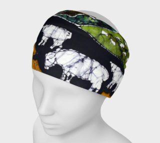 Sheep at Midnight Headband preview