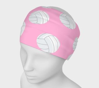 Pink Volleyball Headband preview