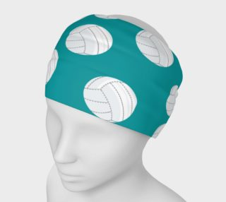 Teal Volleyball Headband preview