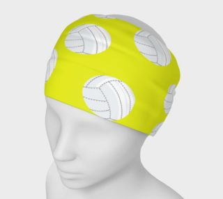Yellow Volleyball Headband preview