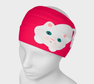 Hot Pink Kitty Cat Hedband preview