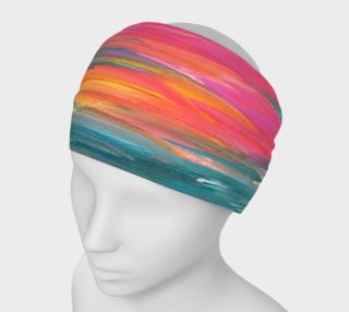 Florida Book Headband Red Hue w Water preview