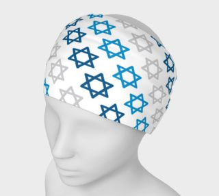 Aperçu de Star of David Hanukkah Headband
