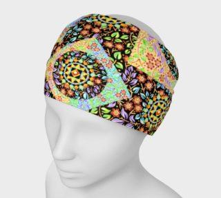 Aperçu de Filgree Floral Patchwork Headband