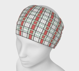 Classic Plaid Headband preview
