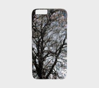 Unique Tree Art iPhone 6 Case preview