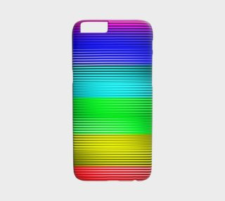Neon Lines iPhone 6 Case preview