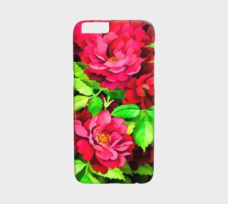 Floral Rose iPhone 6 Case preview