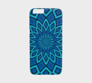 Abstract Starburst iPhone 6 case preview