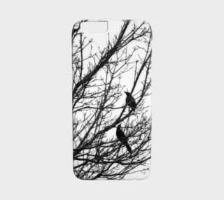 Black Birds iPhone 6 Case preview