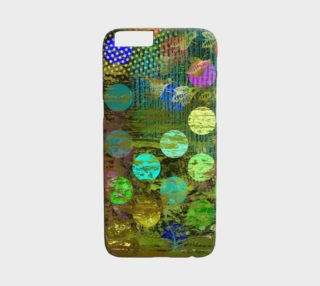iPhone 6 Case:  Abstract Colorful Multidots Design preview
