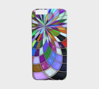 Abstract Kaleidoscope iPhone 6 Case preview
