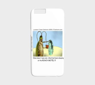 Aperçu de Funny Roach Motel iPhone 6 Case by Rick London