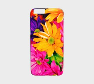 Vibrant Floral iPhone 6 Case preview