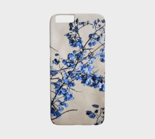Nature Art Blue Leaves iPhone 6 Case preview