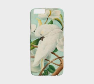 Parrot With Magnolias iPHONE 6/6S CASE preview