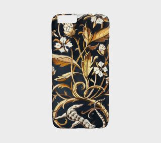 Decorative Floral IPHONE 6/6S Case preview