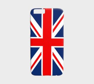 Aperçu de United Kingdom Flag iPhone 6 Case