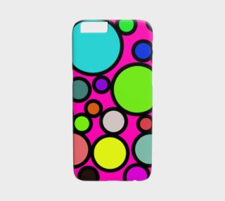 Aperçu de Circles Galore iPhone 6 Case