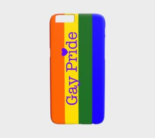 Aperçu de Gay Pride Love iPhone 6 / 6S Case