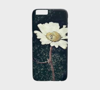 Vintage Daisy Art iPhone 6 Case preview